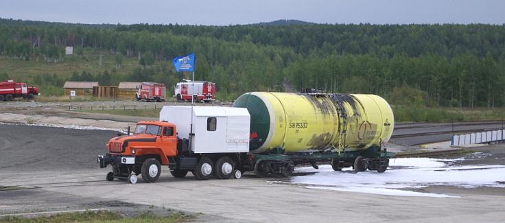 В России сошли с конвейера необычные локомобили на базе «КАМАЗа» и «УРАЛа»